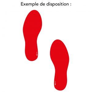 Empreinte de pieds (A20-005)
