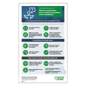 CNESST – Mesures de prévention
