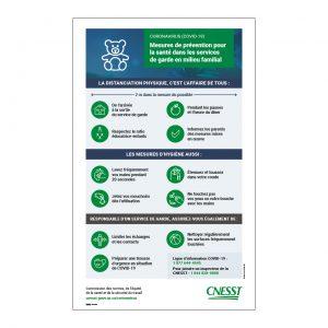 CNESST – Services de garde en milieu familial