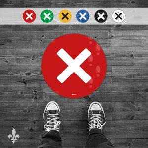 Marqueur «X» (A20-062)