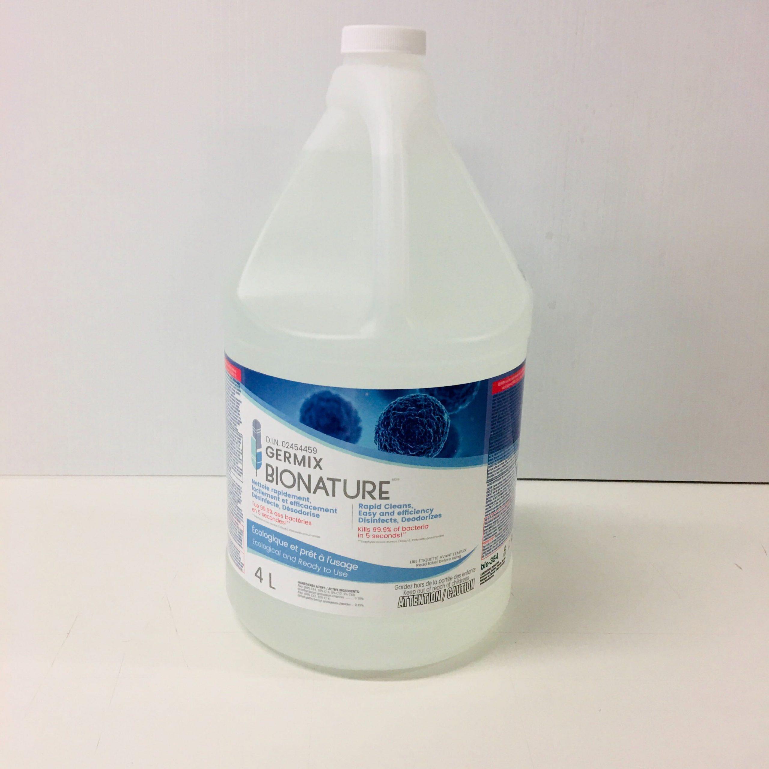 Désinfectant Germix Bionature 4L