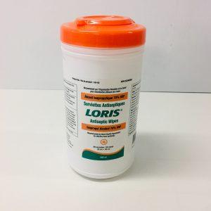 Serviettes antiseptiques Loris