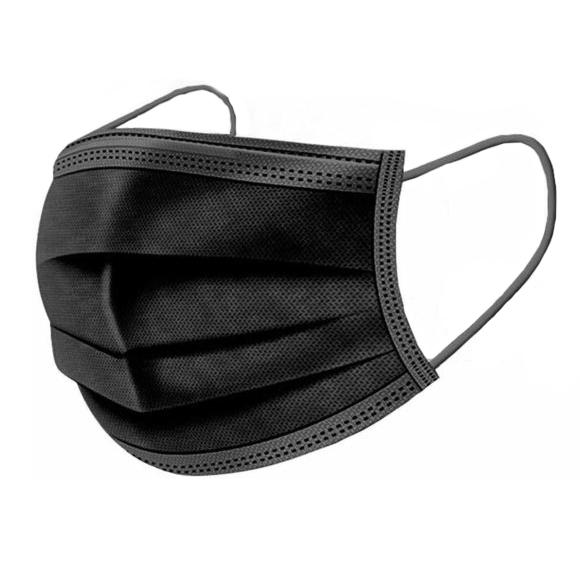 Masques jetables noir